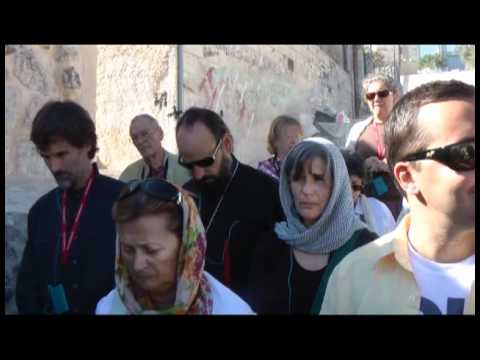 20101103-2 Bethany. Tomb of Lazarus. The Church of St. Lazarus .mp4