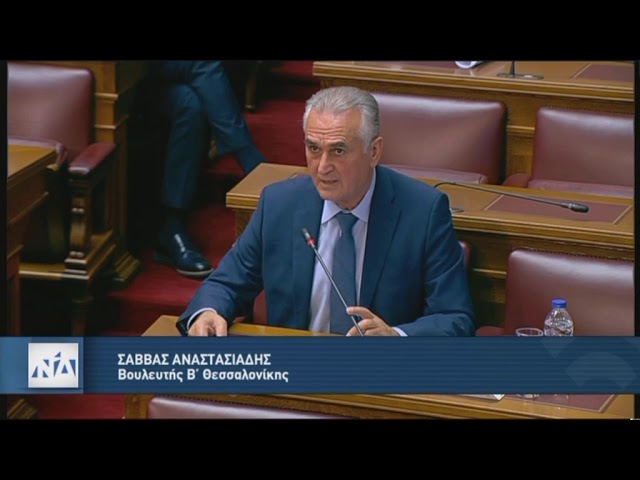 Ομιλία Σ.Αναστασιάδη στην Επιτροπή Οικονομικών 15.10.2020