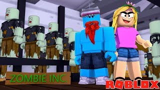 WELCOME TO MY ZOMBIE FACTORY !!! Sharky Roblox w/ Little Kelly