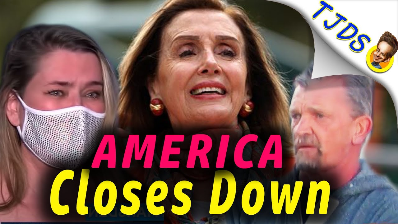 America Closes Down -- People Get Shafted As Monopolies Take Over!