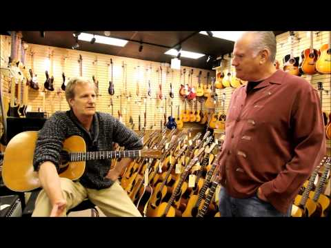 Jeff Daniels at Norman's Rare Guitars