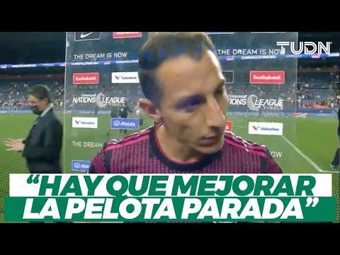 ¡PALABRAS DE ALIENTO! Guardado habla tras perder la final ante USA I TUDN