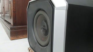 Philips MMS430 Subwoofer - HIGH EXCURSION
