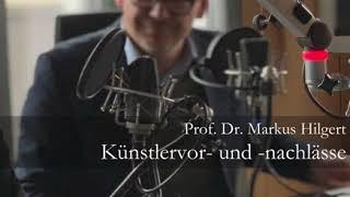 Markus Hilgert zu Künstlernachlässen im Interview mit MDR Kultur