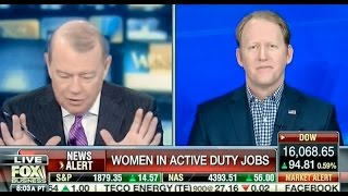 Fox Host Visibly Shocked That Navy Seal Isn't Sexist
