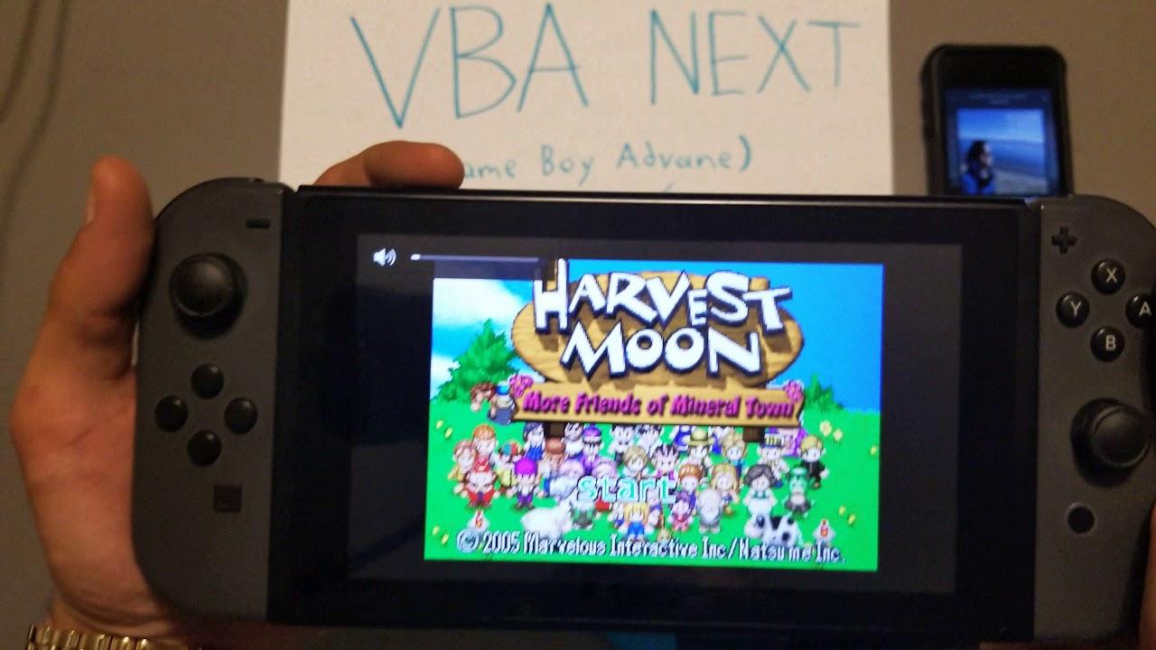 gba emulator for nintendo switch