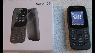 Nokia 106 2018 Mobile Phone Cell Phone Review, Latest New Nokia 2018/ 2019. Games, Snake Xenzia.