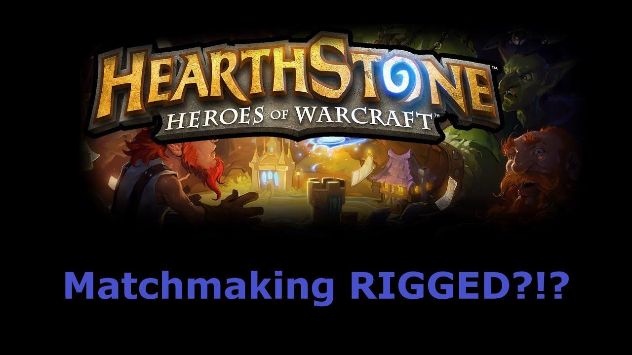 Hearthstone matchmaking riggad