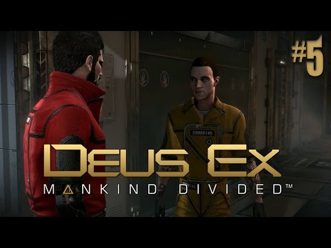 Deus Ex Mankind Divided A Criminal Past #5 Getting Into Solitary Confinement
