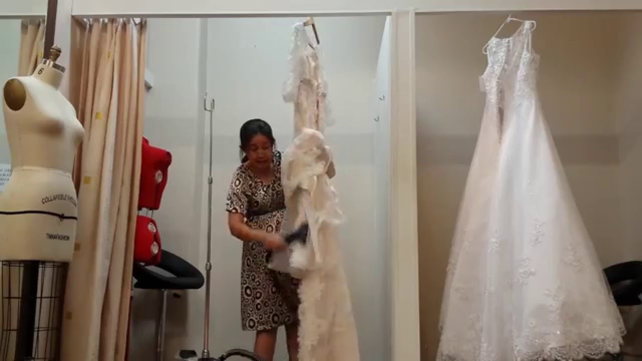 Steam Lace Wedding Dresses