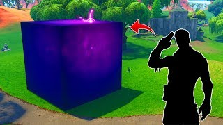 SKIN OCULTA DENTRO DEL CUBO DE FORTNITE! -Fortnite Battle Royale