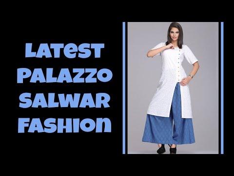 Latest Palazzo Salwar Fashion Part: 01