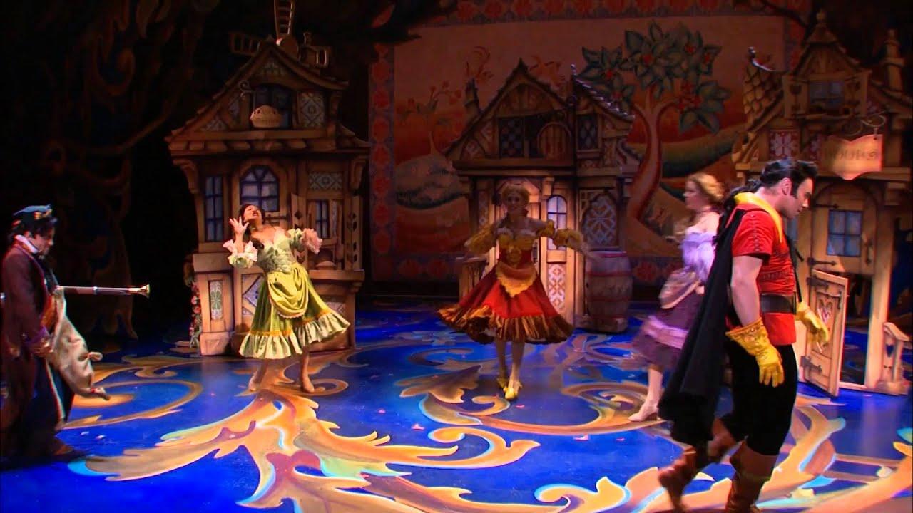 百老匯經典音樂劇「美女與野獸」 宣傳片段 - YouTube