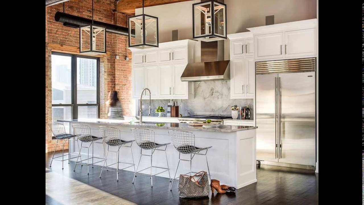 Incroyable Loft Kitchen Design Ideas