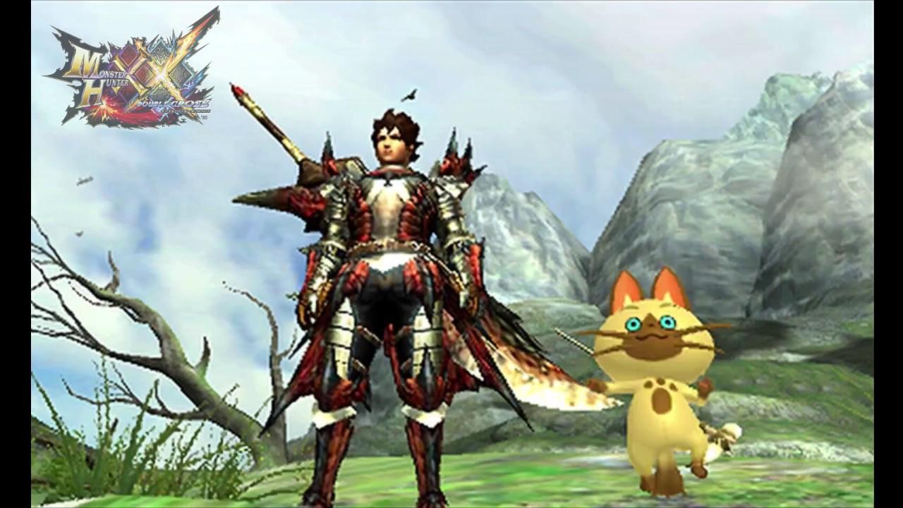[MHXX] Monster Hunter XX (3DS) MHST Save Data Benefit