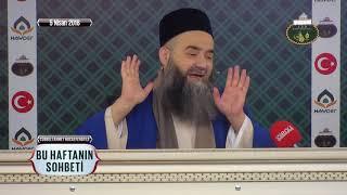 Cübbeli Ahmet Hoca Efendi İle Bu Haftanın Sohbeti 5 Nisan 2018