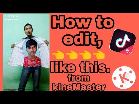 Tiktok Tutorial | T-shirt Celebrity Face Editing | KineMaster Tutorial