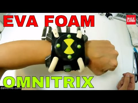 DIY BEN 10 Omnitrix for Cartoon Network - EVA Foam Prop How to