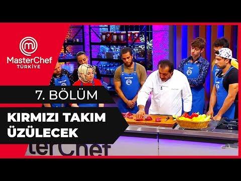 Mehmet Şef, Mavi Takıma Eğitim Verdi - MasterChef 7. Bölüm