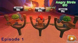 Angry Birds GO # Episode 1 - Đua Xe Cùng Những Chú Chim Nổi Giận