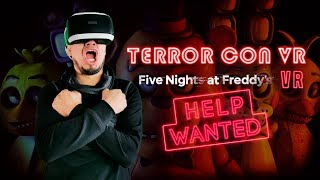 Sustos con VR: Five Nights at Freddy's VR: Help Wanted