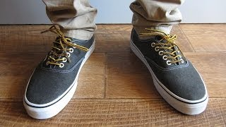 Vans Authentic Era VN-0VOE4JT Black Washed Canvas | Посылка с eBay