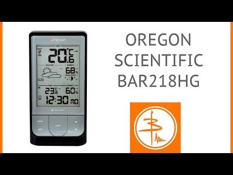 Oregon Scientific BAR218HG - погодная станция с Bluetooth