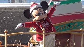 【TDL】ディズニー・クリスマス・ストーリーズ(3rdミッキーミニー)2015/12/07 1回目公演
