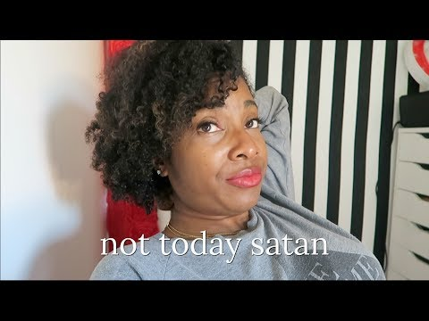 NOT TODAY SATAN 🙅🏾 That Chick Angel TV