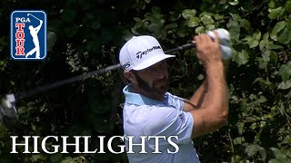 Dustin Johnson Extended Highlights | Round 1 | THE NORTHERN TRUST