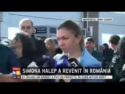 Simona Halep a revenit in Romania