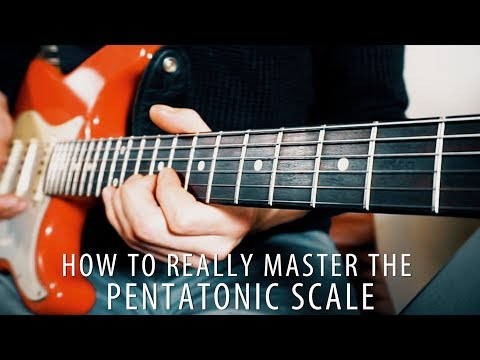 Master the PENTATONIC scale on the entire fretboard!