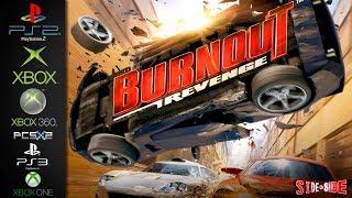Burnout Revenge | Side by Side | PS2  Xbox  Xbox 360  PCSX2  PS3  Xbox One | Graphics Comparison