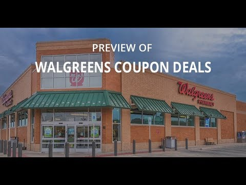 Preview of the Top Deals at Walgreens for Next Week Starting Sun 8/6