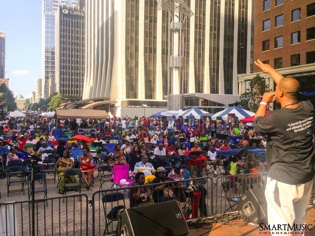"""Larry """"LAK"""" Henderson Live at the African-American Cultural Festival of Raleigh & Wake County"""