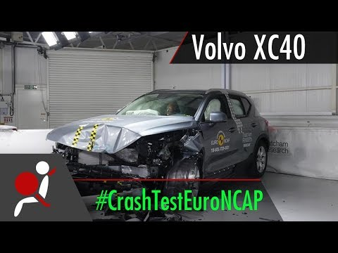 Volvo XC40 - 2018 - Crash Test Euro NCAP
