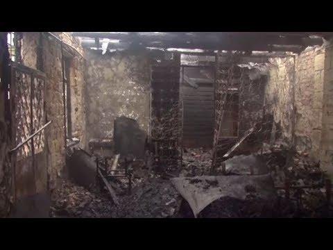 В Одессе горела психиатрическая больница