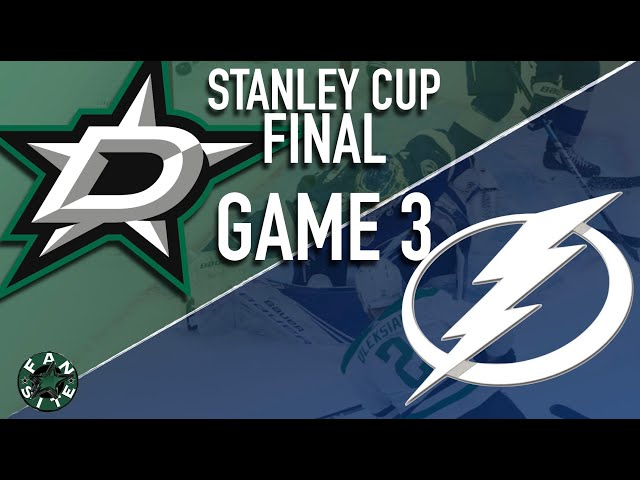 Dallas Stars vs Tampa Bay Lightning | 2020 Stanley Cup Playoffs Final, Game 3