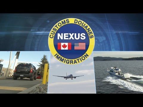 NEXUS: Save time at the border!