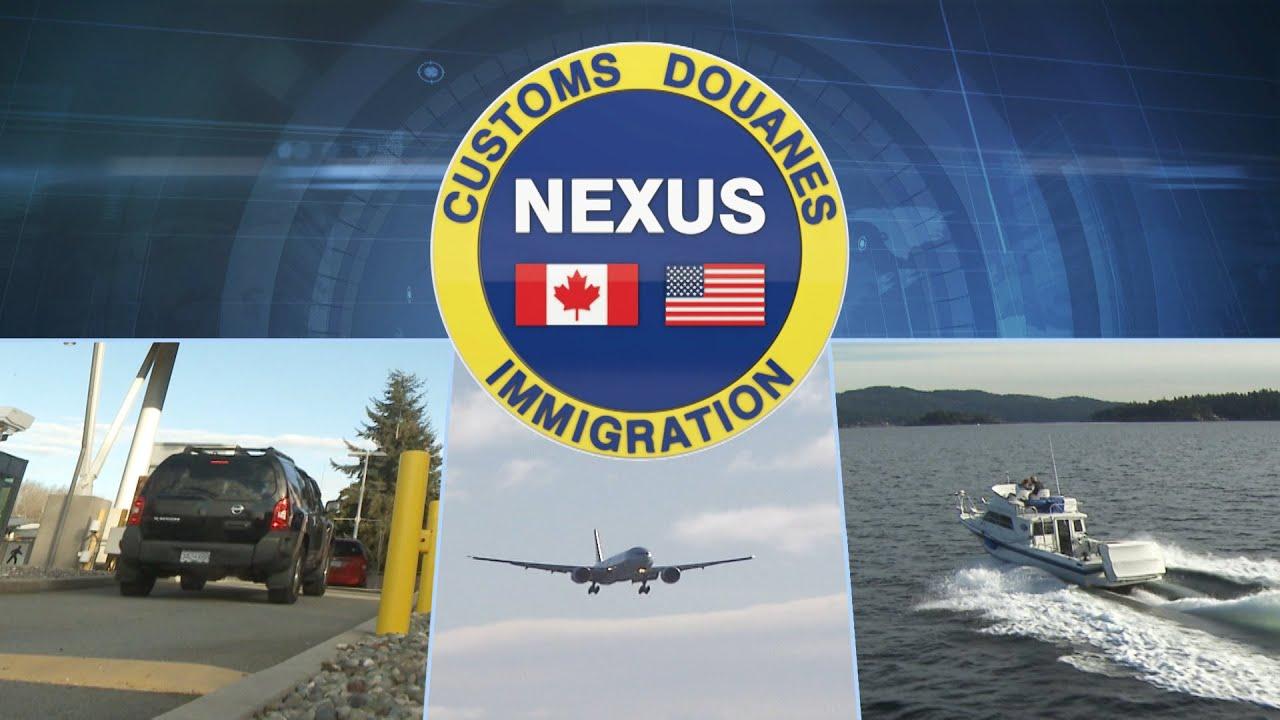 Carte Nexus Canada.Nexus Save Time At The Border Youtube
