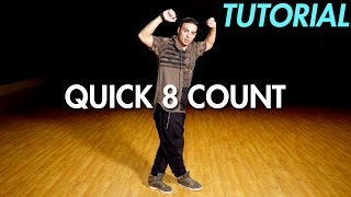 How to do a Quick 8 Count Dance Routine (Hip Hop Dance Moves Tutorial)   Mihran Kirakosian