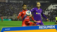 Resumen: Alianza Lima vs. Carlos A. Mannucci (2-2)