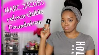 MARC JACOBS Re(marc)able Full Cover Foundation GRWM TALK THROUGH