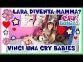 50 BAMBOLE CRY BABIES per VOI da VINCERE e ...Lara diventa MAMMA?! Unboxing by Lara e Babou