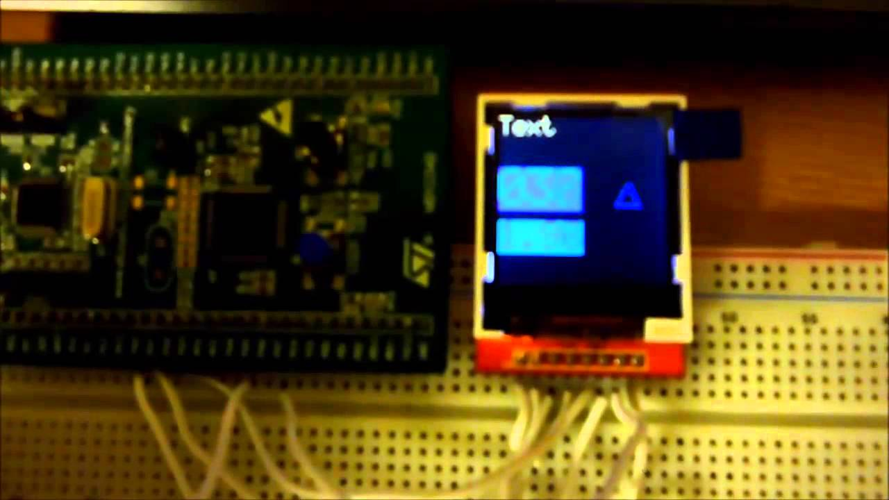 Update of my Graphics library - STM32F0 Discovery board and 128x128 ILI9163  LCD