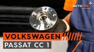 Peržiūrėkite vaizdo įrašo vadovą, kaip pakeisti VW PASSAT CC (357) Rato guolis