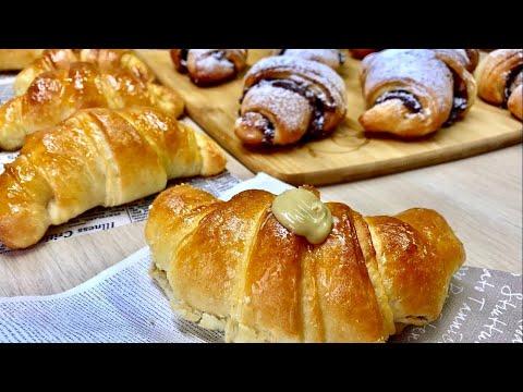 Ricetta Veloce X Cornetti.Cornetti Brioche Con Sfogliatura Veloce Croissaint Brioche Puff Pastry Simply Youtube