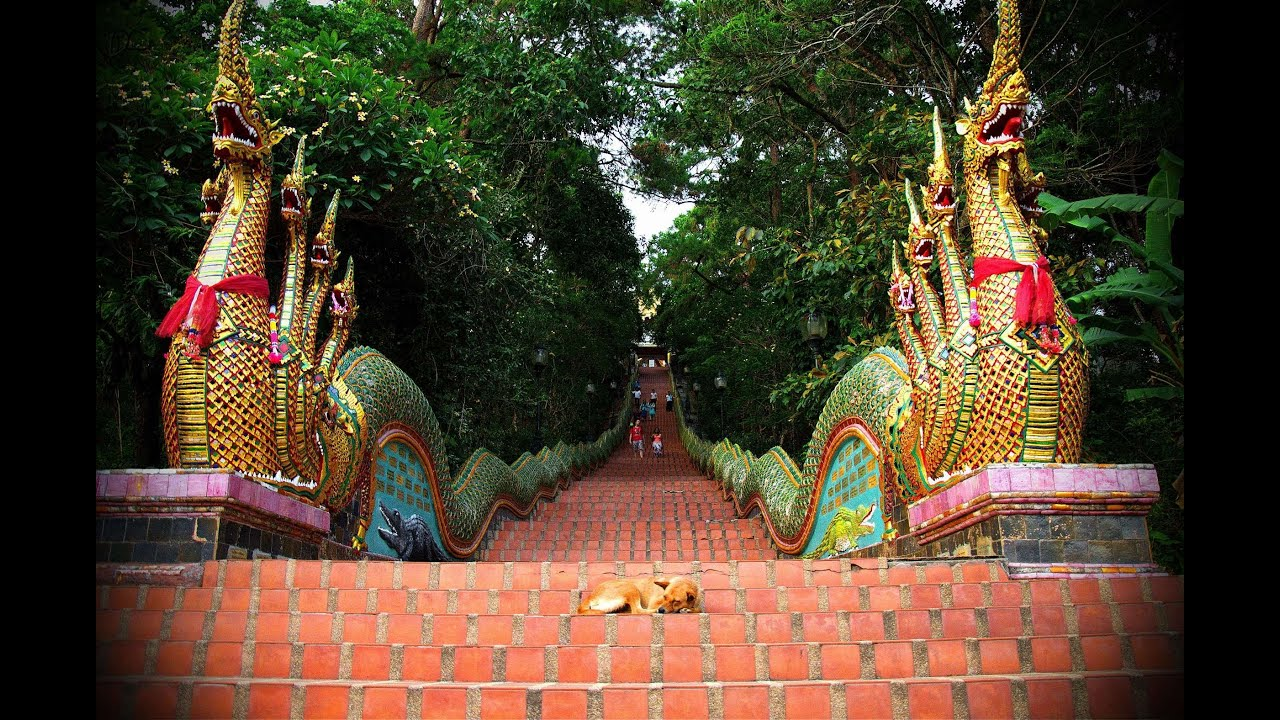 Doi Suthep Incredible Wat Phra That Temple - Chiang Mai Thailand - YouTube