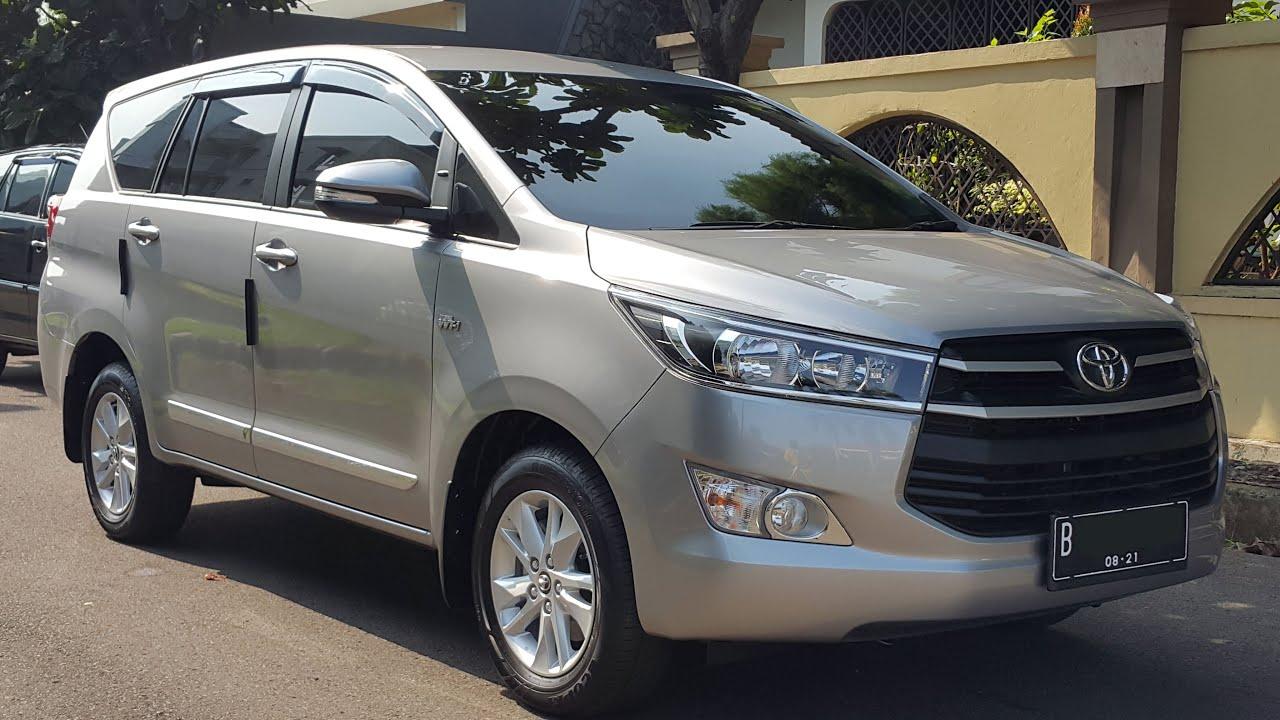 Toyota Innova G 2016 [ MT 2.0 Petrol ] Silver - YouTube