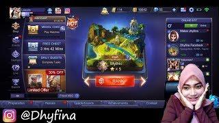 🔴[LIVE] Mobile legends | RANK SANTEY | Jaringan paruuy !!!
